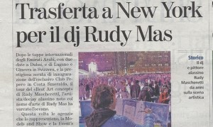 La Stampa New York beat art